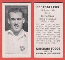 Bolton Wanderers Nat Lofthouse England 2 (mm)